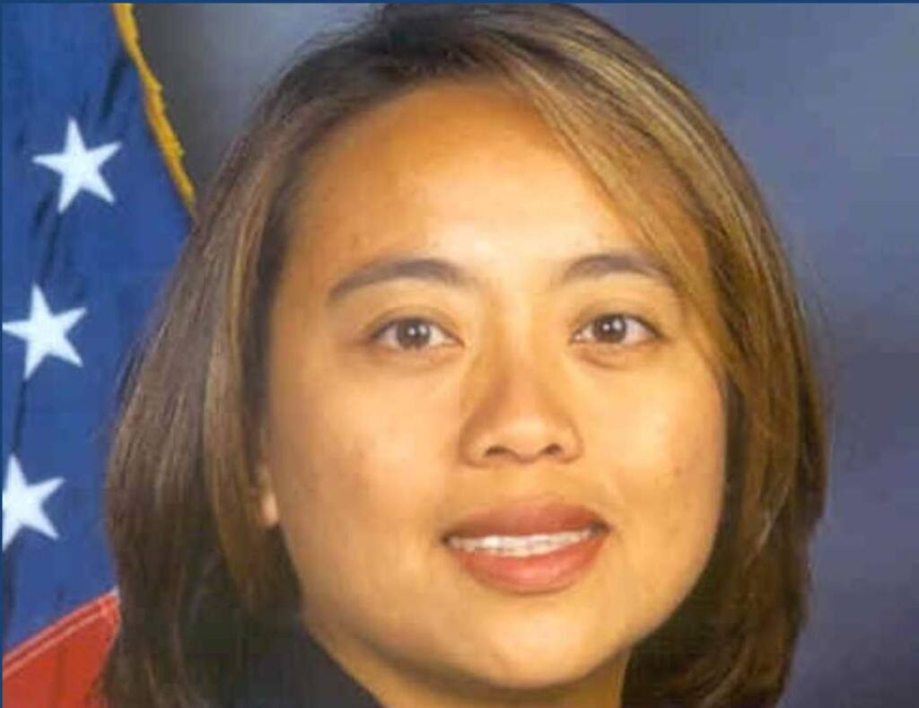 Santa Rosa Police Detective Marylou Armer died Tuesday, March 31, 2020, of complications from coronavirus. (Peace Officers Research Association of California)