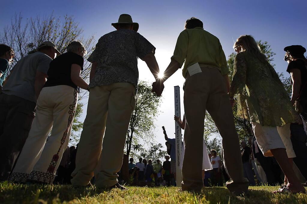 A Sonoma County Earth Day celebration, held in 2010. (Kent Porter / Press Democrat)