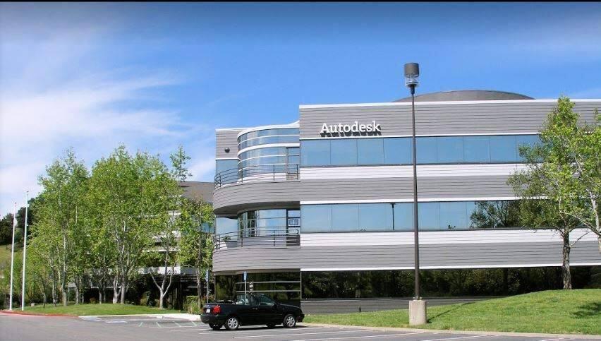 Autodesk's offices in San Rafael (Michael Barnes / for Autodesk)