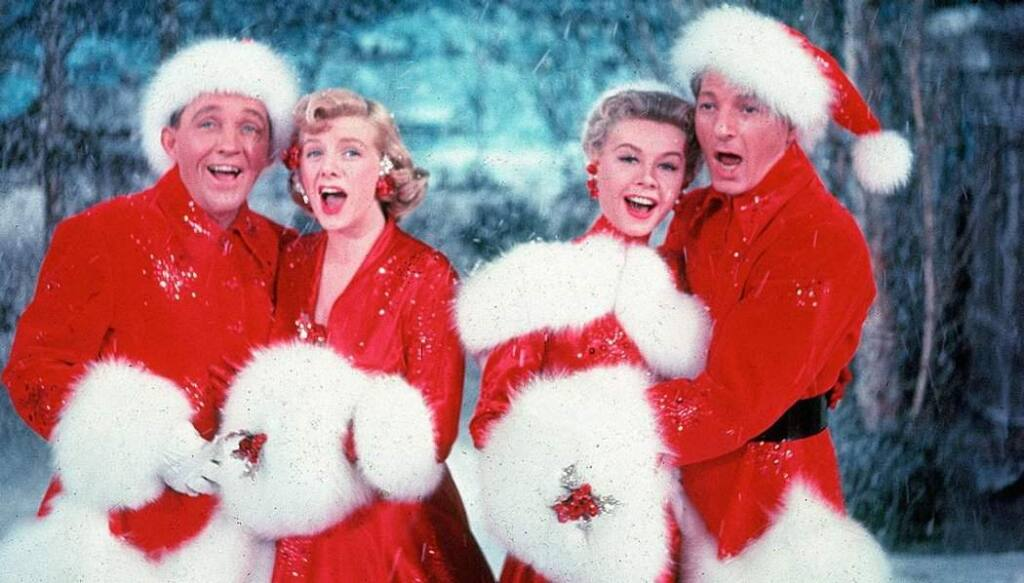 'White Christmas' (1954): Singers Bob Wallace (Bing Crosby) and Phil Davis (Danny Kaye) joins another duet to put on a Christmas show in Vermont, where the run into their hard-luck WWII commander and conceive a plan for a holiday extravaganza to aid his failing inn. Stream it on Netflix until Dec. 31. (IMDb)