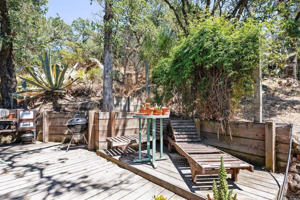 Room for a raised bed garden at 46 Sunnyside Ave., Sonoma. Property listed by Daniel Casabonne/ Sotheby's International Realty danielcasabonne.com, 707-494-3130. (Courtesy of BAREIS)