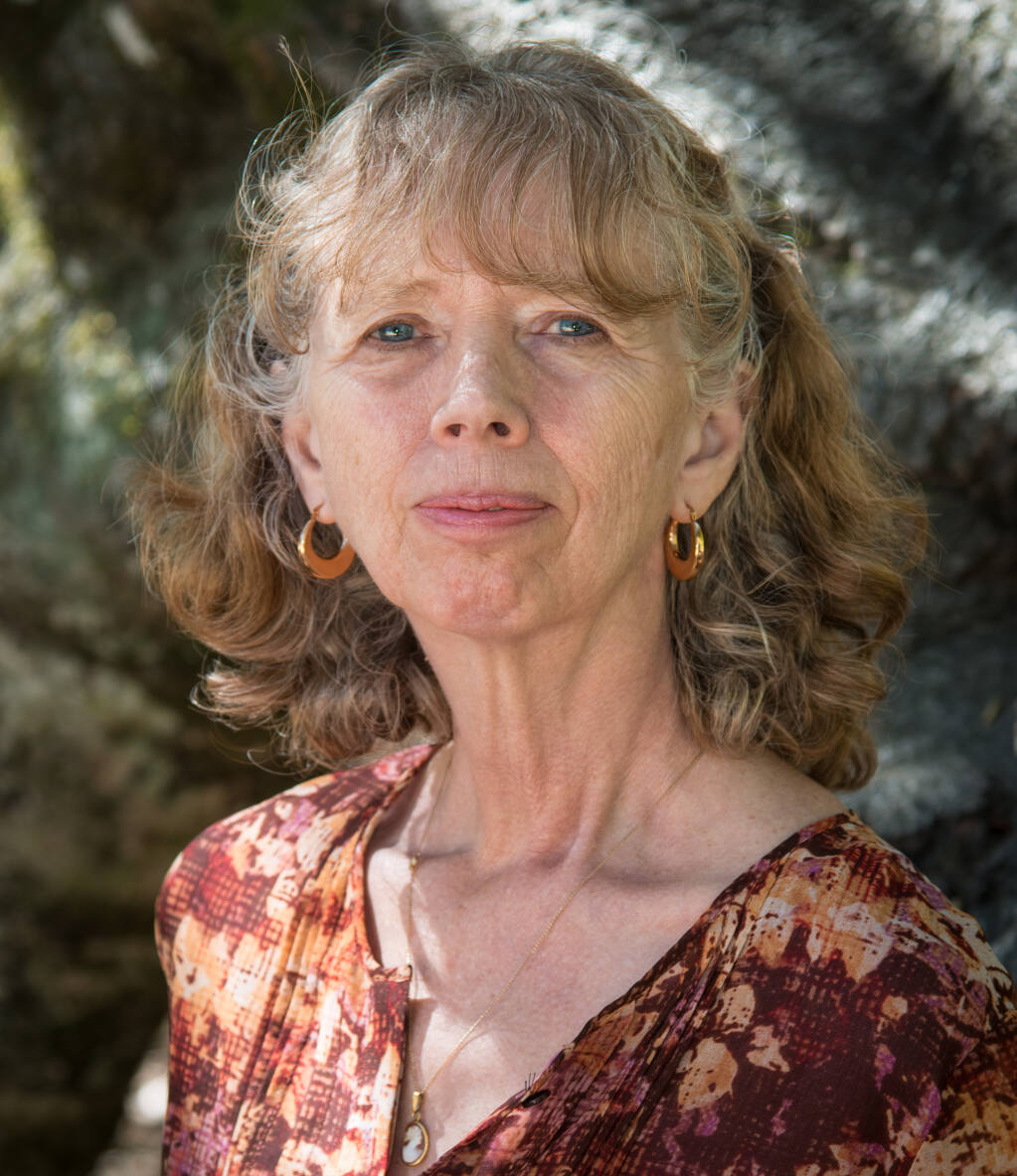 Phyllis Meshulam has been named the new Sonoma County Poet Laureate for 2020-2022. JERRY MESHULAM