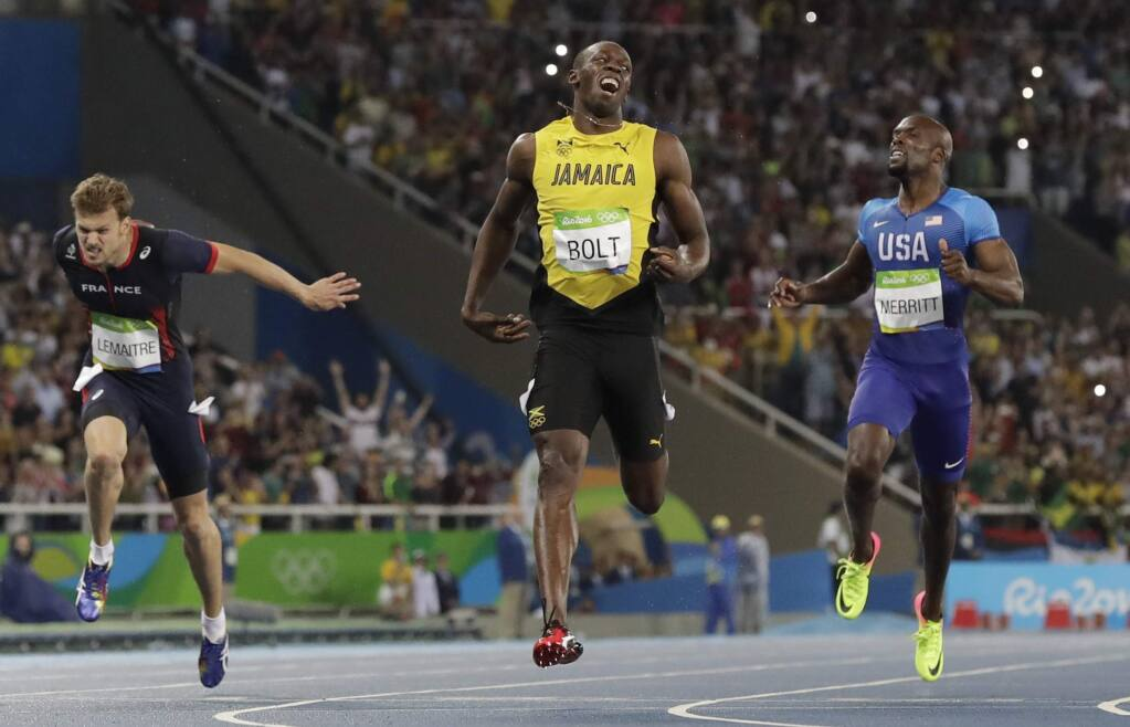 Usain Bolt unhappy with latest gold medal-winning performance