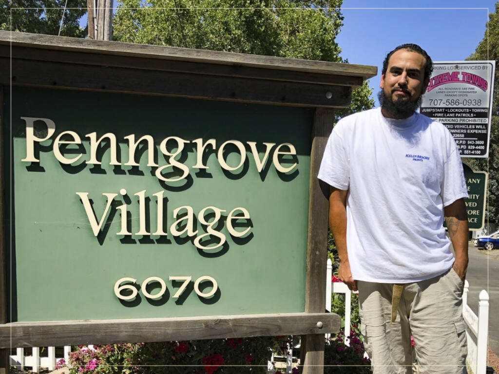 Penngrove village is home to many tradespeople, like Pedro who has a reputable painting business with his 4 brothers.