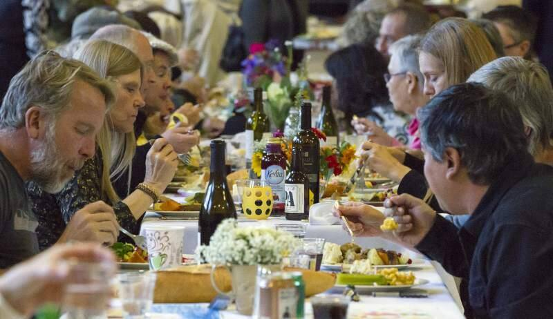 Turkey, gravy and a savory potato mash will be piled on plates from 3 to 5 p.m. this Thanksgiving at the Sonoma Valley Veterans Memorial Building.
