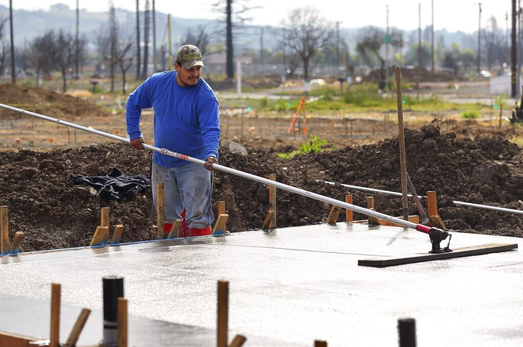 Rebuild Ramps Up In Coffey Park