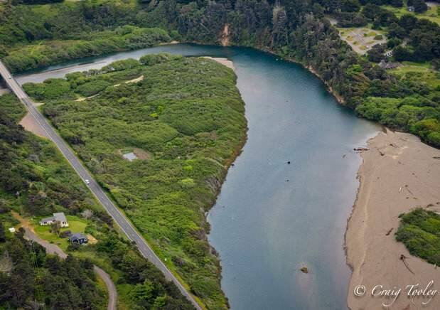 The Mill Bend property (Redwood Coast Land Conservancy)