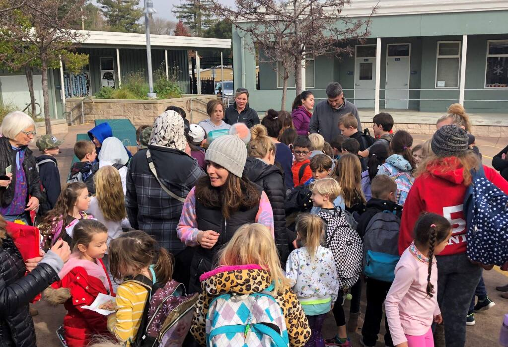 GOODIES FOR A GOOD CAUSE: Grant School's bake sale and other efforts have raised over $2000 dollars for Austrailian wildlife assistance.