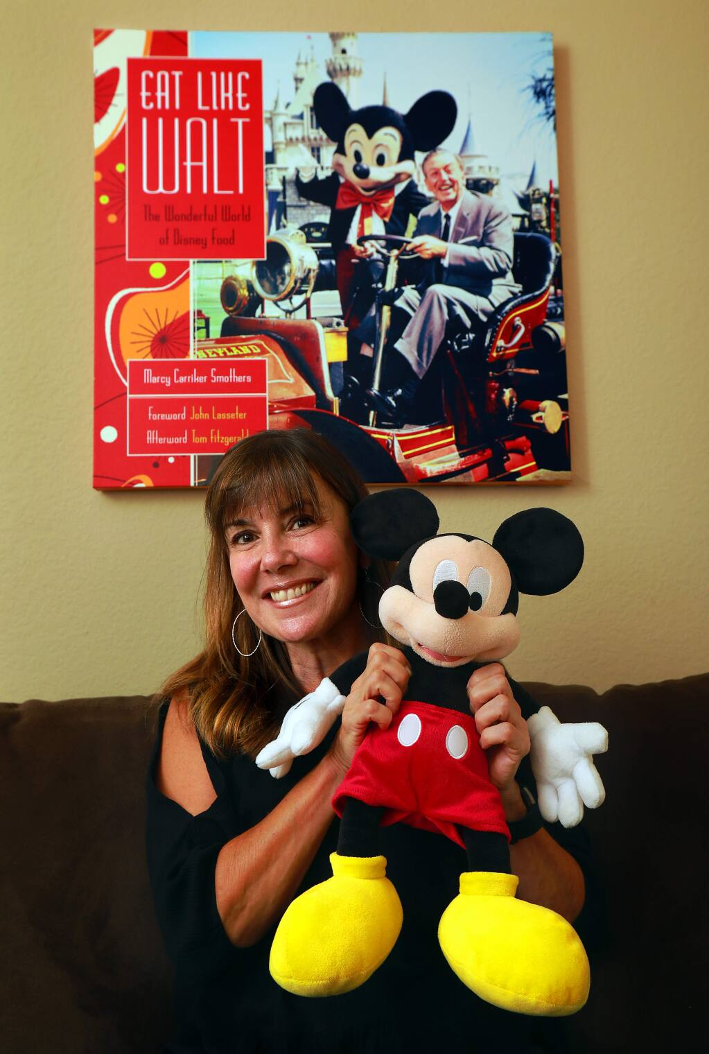 Author Marcy Smothers wrote about the culinary history of Disneyland in her book, 'Eat Like Walt.' (photo by John Burgess/The Press Democrat)