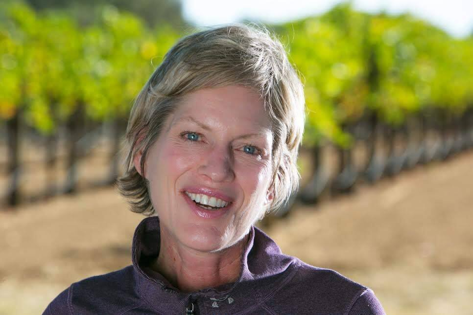 Lynn Krausmann, winemaker behind our wine-of-the-week winner - the Pellegrini, 2015 Unoaked Russian River Valley, Sonoma County Chardonnay. (COURTESY)