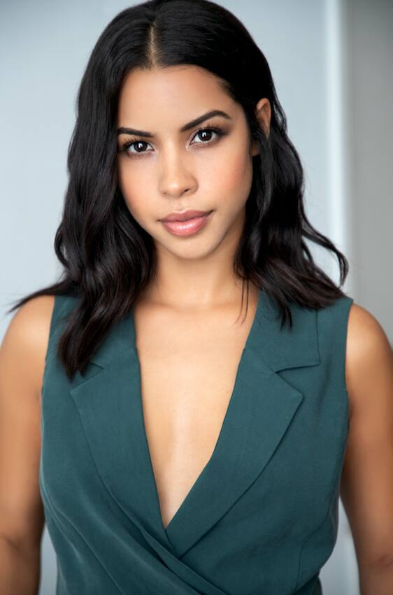 "Actress Catherine Toribio, who appears in ""Murder in the Woods,"" a modern slasher film with a mostly Latino cast. Courtesy photo."