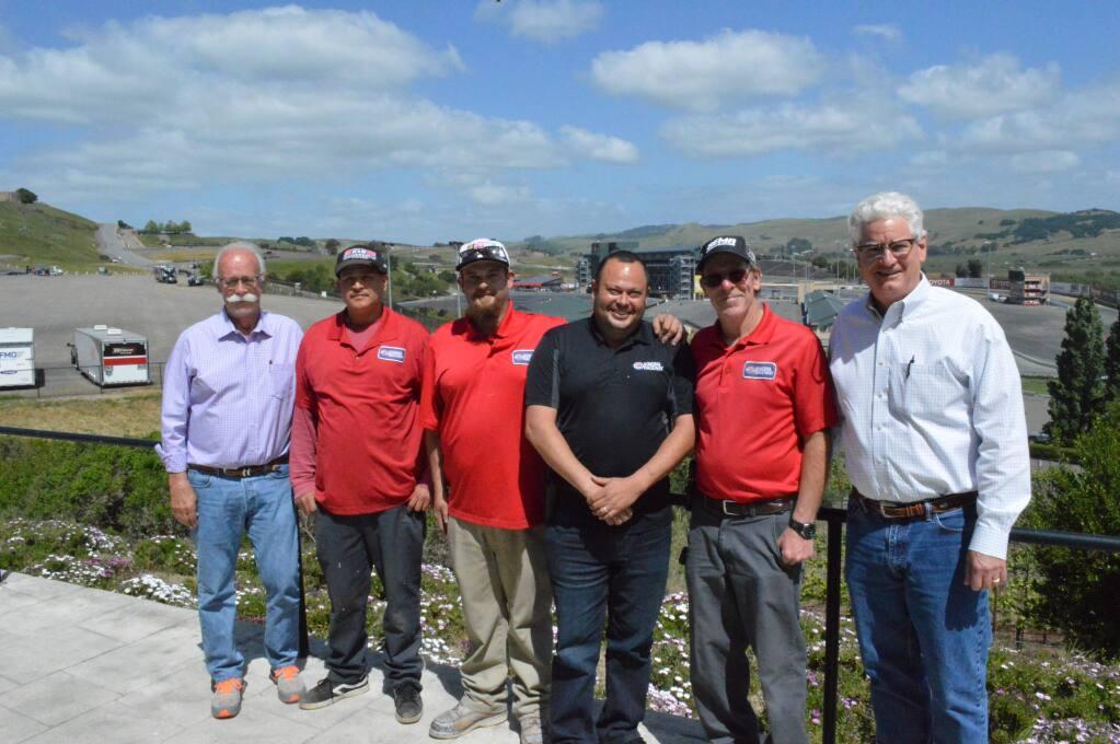From left to right: Jere Starks, Jose Martinez (TSS alum), Noe Ramos, Lino Ramos, Eric Brown, Steve Page.