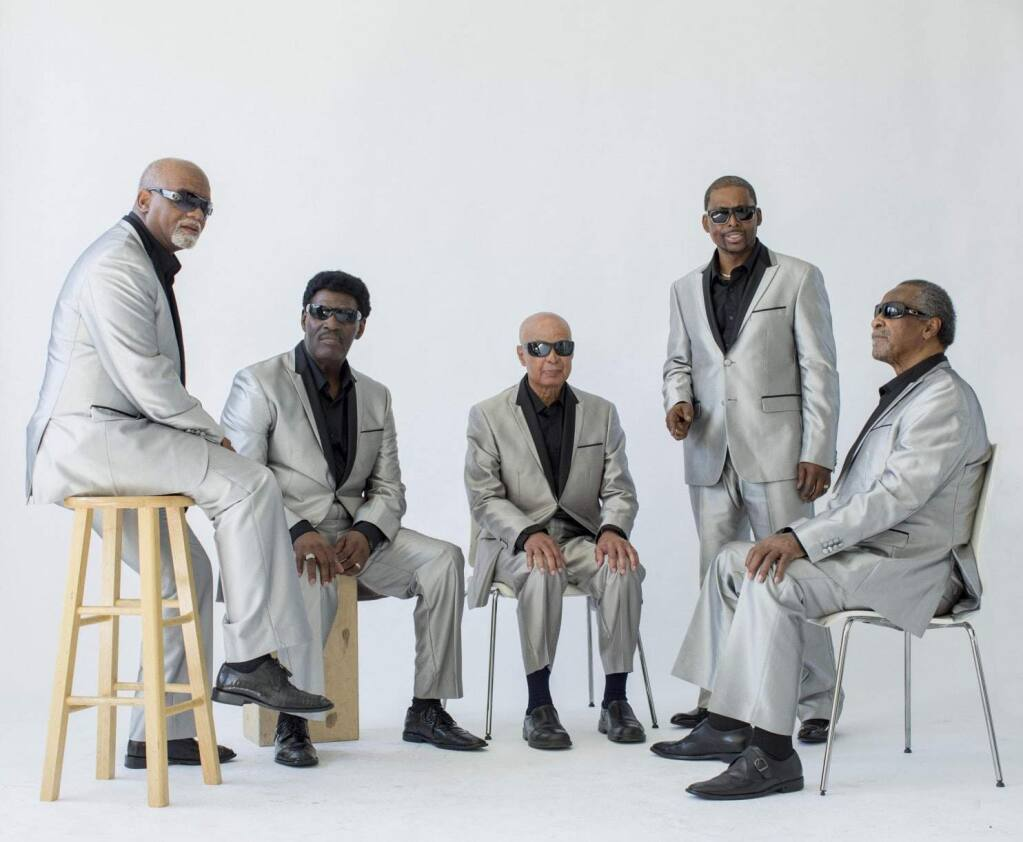 BLIND BOYS OF ALABAMA - Jimmy Carter (center) says he still loves bringing music to people who need a boost.