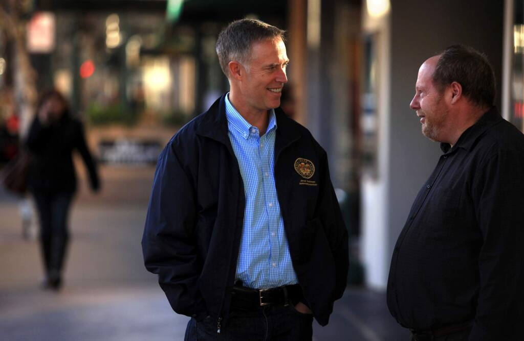 Rep. Jared Huffman, D-San Rafael, and fellow Northern California congressional represenatives have been shut out of drought talks. In response, they are crowd-sourcing a drought-relief bill. (KENT PORTER / Press Democrat)