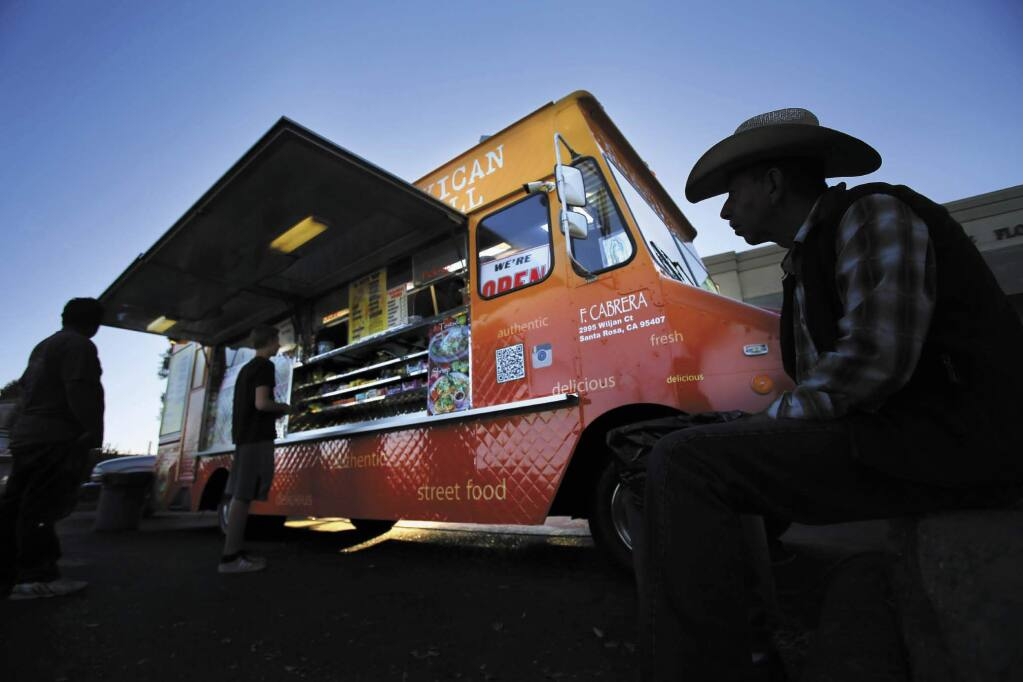 El Roy's Mexican Grill was voted the best food truck in Sonoma County by voters in the Press Democrat's Best of Sonoma County Awards. (CHRISTOPHER CHUNG / PRESS DEMOCRAT)