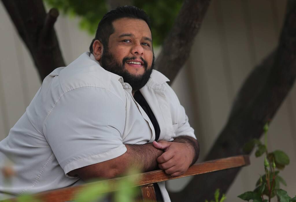 Omar Medina (Christopher Chung/ The Press Democrat)