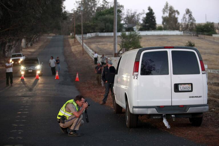 Driver Edward Jacobson, 46, of Petaluma was returning from an event Friday evening when the trailer hitch somehow failed
