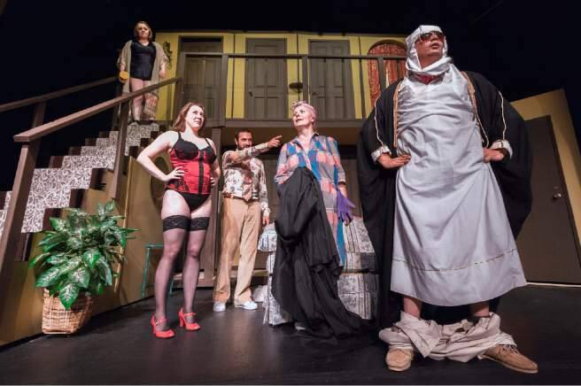 Sonoma Arts Live is looking for a great consistency in its shows. Above, Narrow Way Stage's production of 'Noises Off,' from the 2015 schedule.