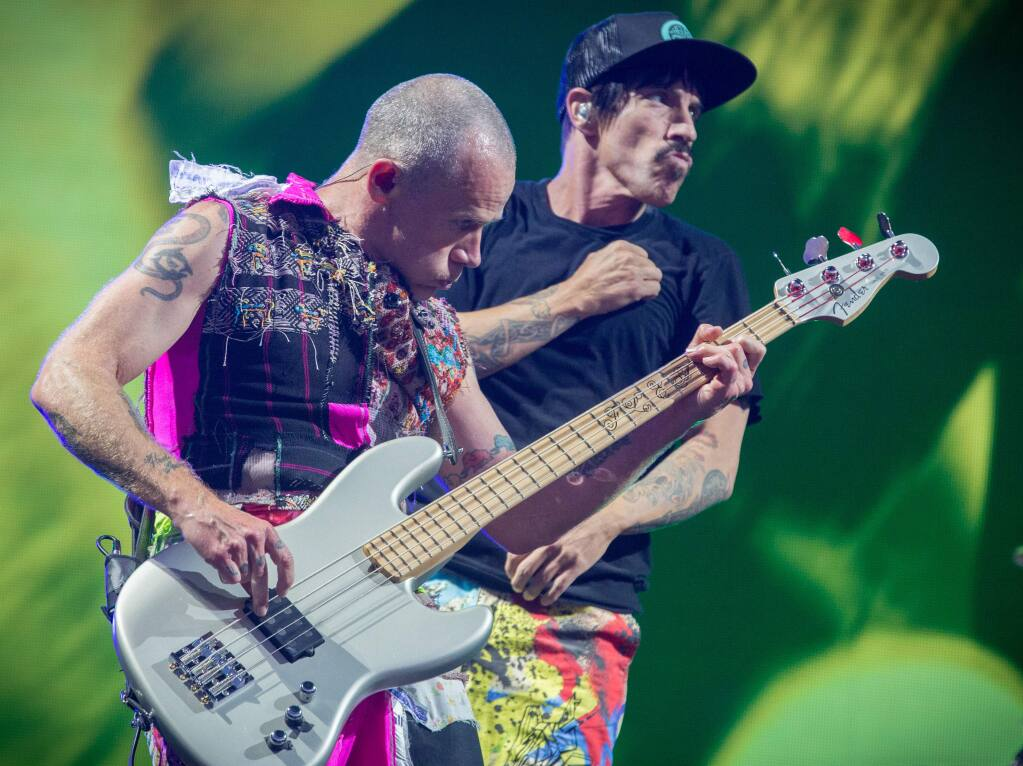 Red Hot Chili Peppers (STERLING MUNKSGARD/ SHUTTERSTOCK)