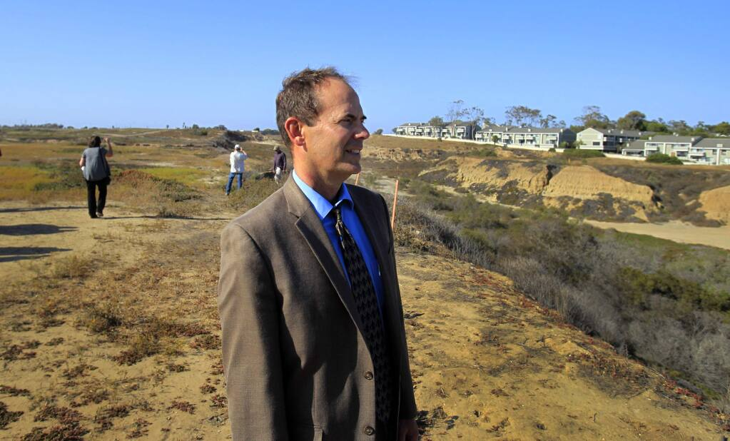 When it meets this week, the California Coastal Commission will consider firing Executive Director Charles Lester. (ALLEN J. SCHABERI / Los Angeles Times)