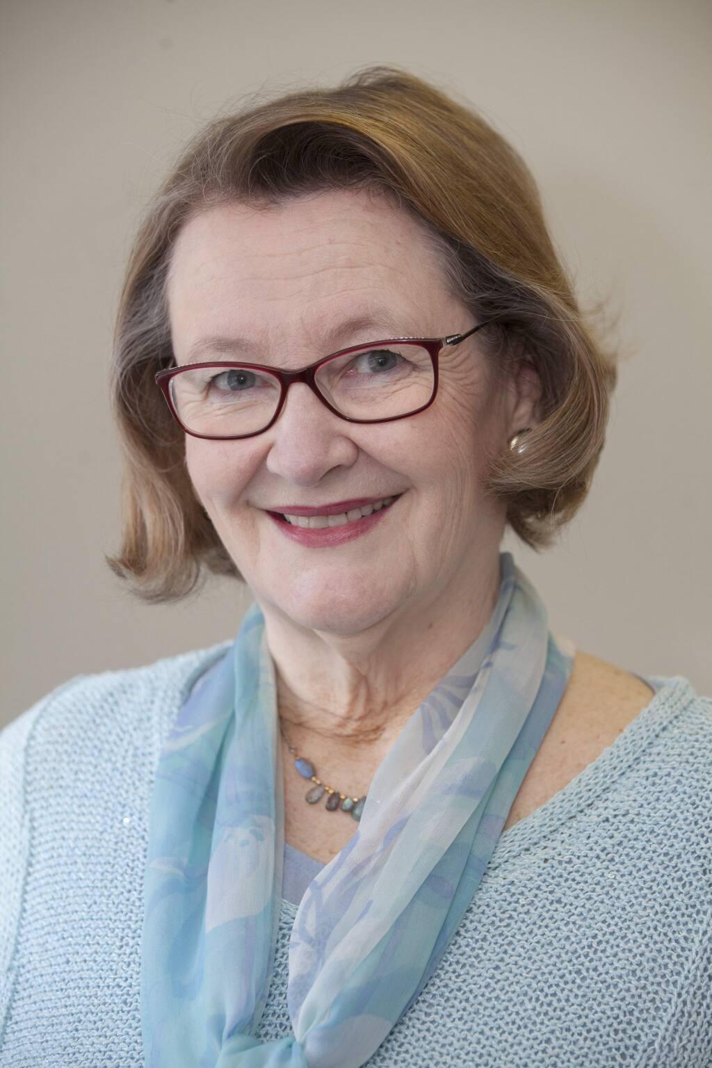 Sonoma Index-Tribune columnist Sylvia Crawford.