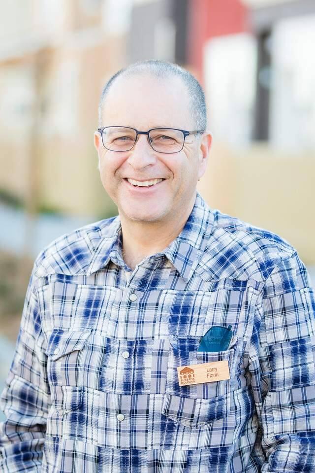 Burbank Housing CEO Larry Florin.