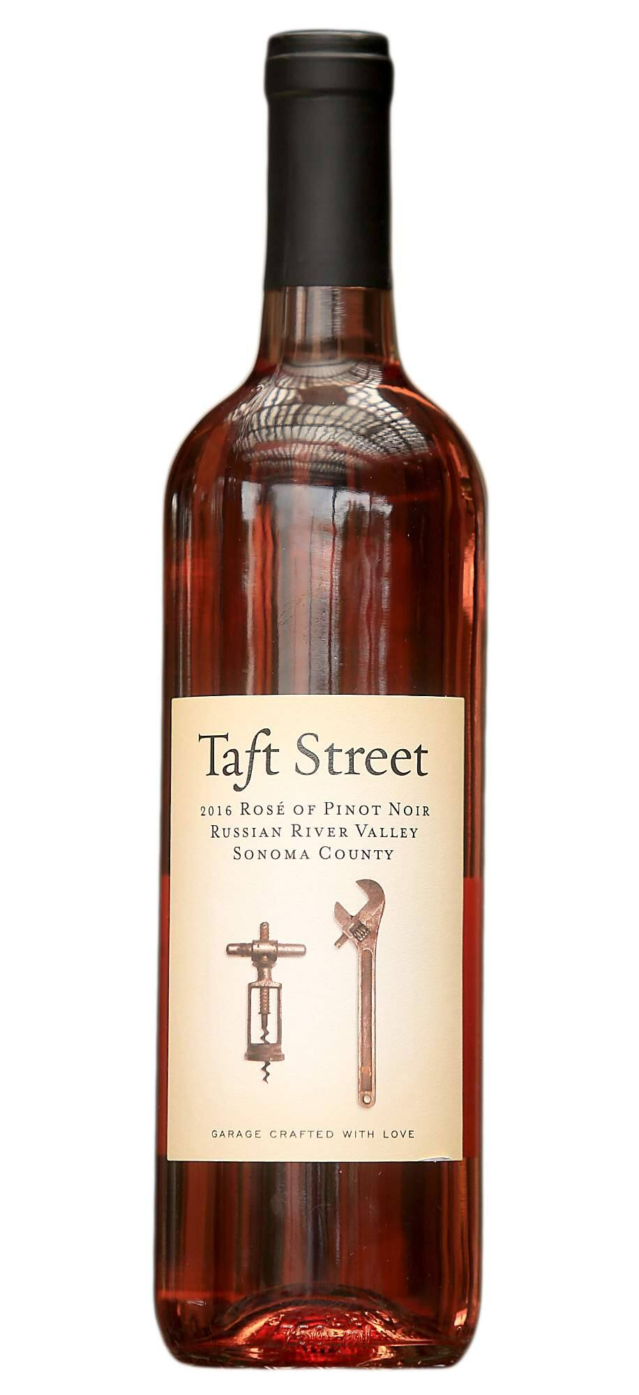 Taft Street 2016 Russian River Valley took Best of the Best title in the 2017 North Coast Wine Challenge -- a first for a pink wine. (Press Democrat)
