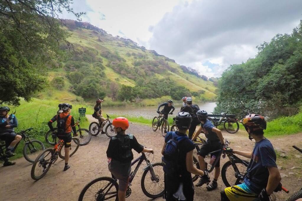 The 2018 CampoVelo gran fondo include mountain biking at Skyline Wilderness Park in Napa County. (COURTESY IMAGE)