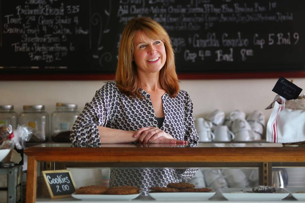 Tour 2: Small towns to the north, Cloverdale. If you're looking for a great spot for weekend brunch, visit Kristine Bodily-Gallagher's Savvy on First. Cloverdale residents rave about their Ricotta & Buttermilk Pancakes or 'Green Eggs & Ham.' (Christopher Chung/ The Press Democrat)