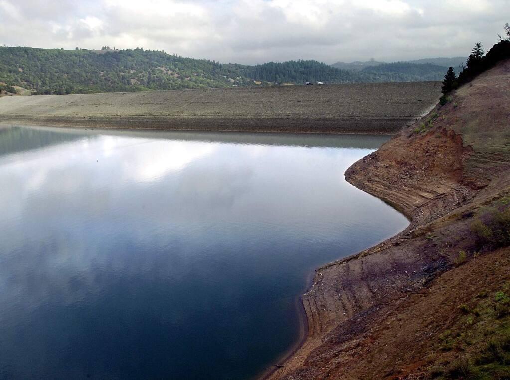 Warm Springs Dam at Lake Sonoma (PD FILE)