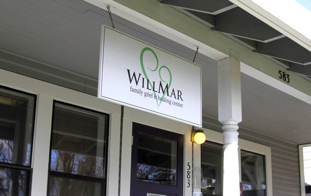 The Santa Rosa-based group Social Advocates for Youth, SAY, will continue the grief counseling that WillMar Family Grief and Healing Center is offering. WillMar announced earlier this month that it would close its doors.