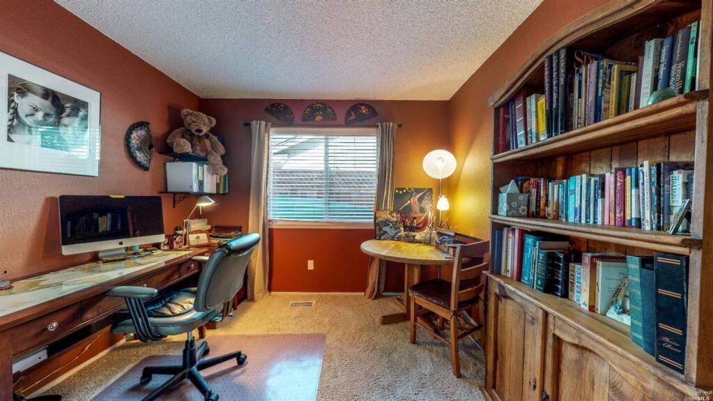 An office at 1072 Wren Drive, Petaluma. Property listed by Denise Lucchesi/ CENTURY 21 Bundesen, deniselucchesi.com, 707-799-6948. (Courtesy of BAREIS MLS)