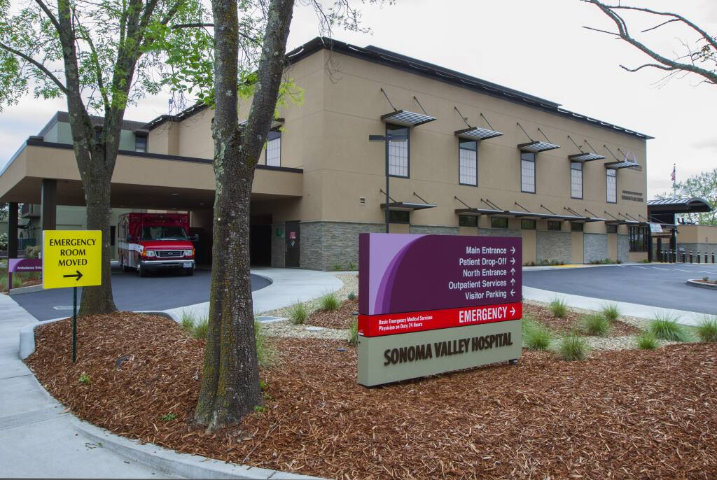 Sonoma Valley Hospital ranked in the top 25 percent nationawide for 'quality outcomes' by the Centers for Medicare and Medicaid.