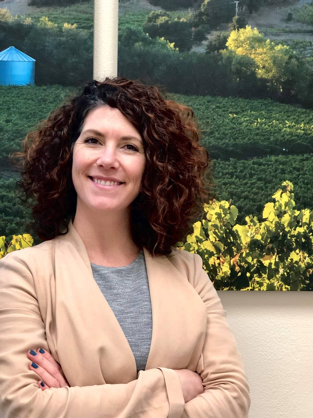 Tara Johnson, assistant vice president and Healdsburg branch manager II for Novato-based Bank of Marin, is one of North Bay Business Journal's Forty Under 40 notable young professionals for 2019. (PROVIDED PHOTO)