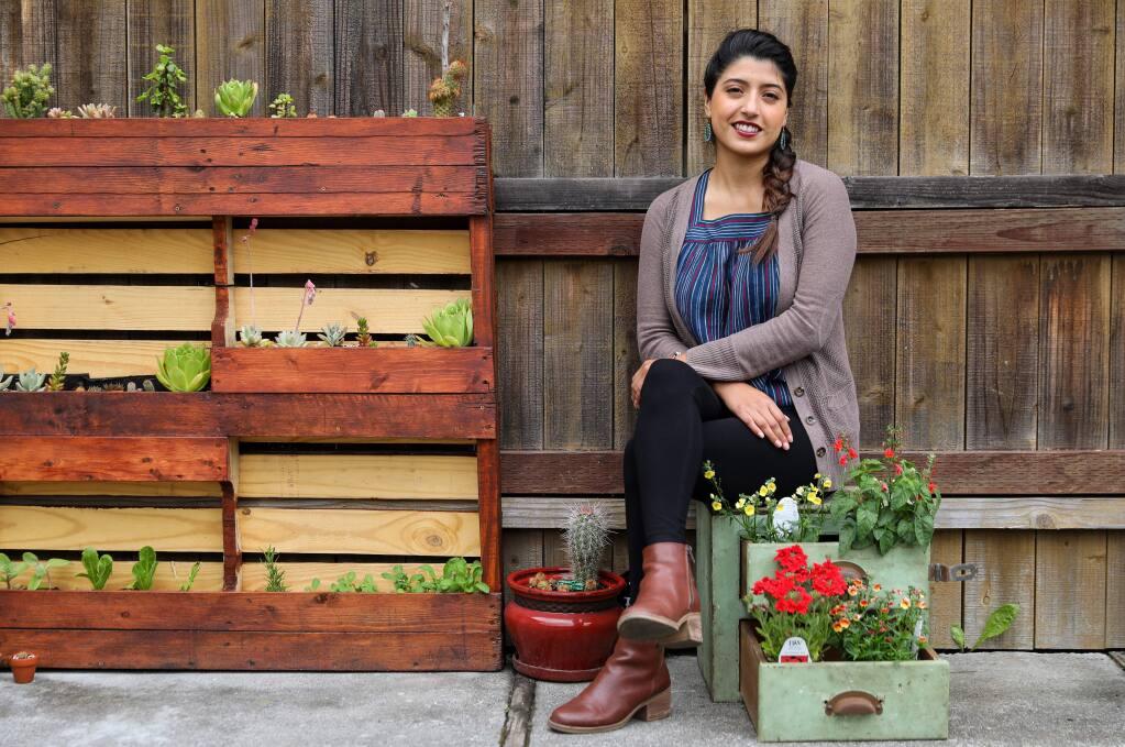 Ariana Diaz De Leon is the senior program officer at Community Foundation Sonoma County. (Christopher Chung/ The Press Democrat)