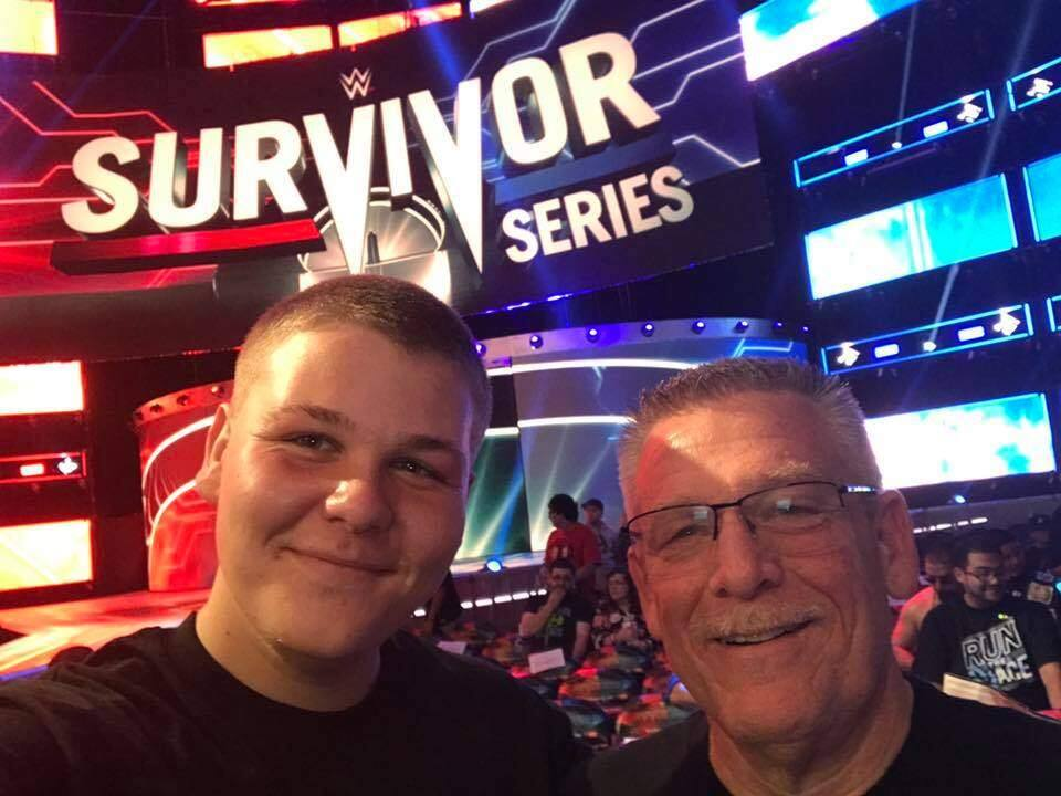 Father Trey Dunia (age 54) and son Cody Dunia (age 16) both live in Santa Rosa. Dunia, senior says his son is becoming more like him every day. Both father and son like professional wrestling. The younger Dunia is taller and likes dogs, while his father prefers cats.