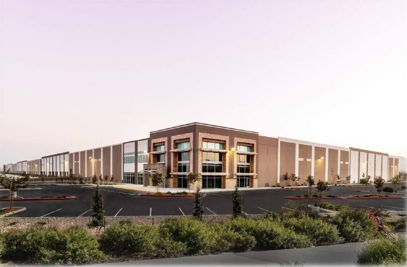 The 646,000-square-foot first building of Napa Logistics Park distribution center complex in American Canyon is leased to Ikea in September 2017. (PROVIDED PHOTO)