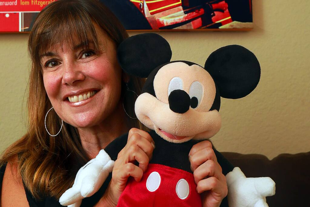 Marcy Carriker Smothers writes about the culinary history of Disneyland in her book, 'Eat Like Walt.' (Photo by John Burgess/The Press Democrat)