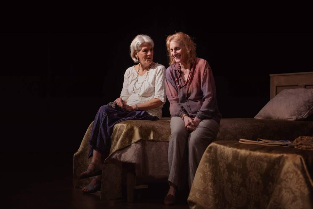 PASSAGE TO INDIA: Laura Jorgenson and Elly Lichenstein in Cinnabar Theater's 'A Perfect Ganesh'