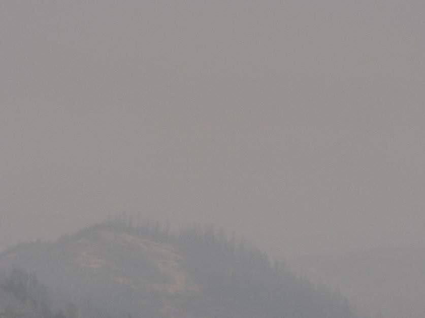 The view from the Barham North wildfire camera in Sonoma County, Friday, Oct. 25, 2019. (ALERTWILDFIRE.ORG)