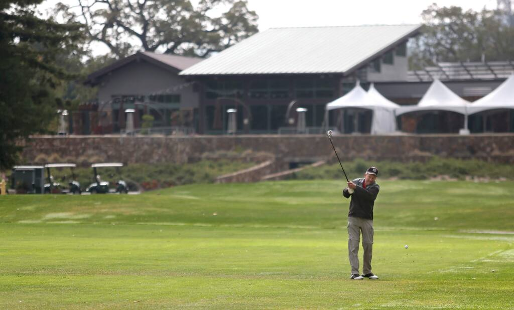 The city of Santa Rosa hired a consultant to study future uses for the Bennett Valley Golf Course. (CHRISTOPHER CHUNG / The Press Democrat, 2013)