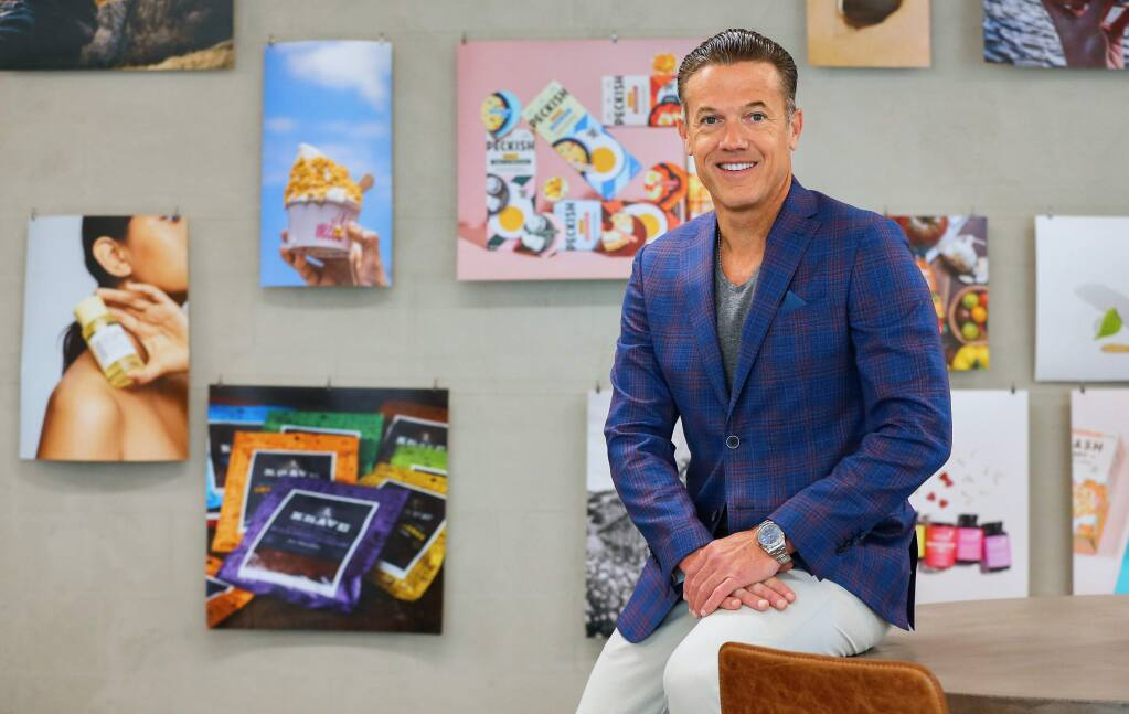 Jon Sebastiani is the CEO of Sonoma Brands, which recently repurchased Krave jerky after selling it to Hershey a few years ago.(Christopher Chung/ The Press Democrat)