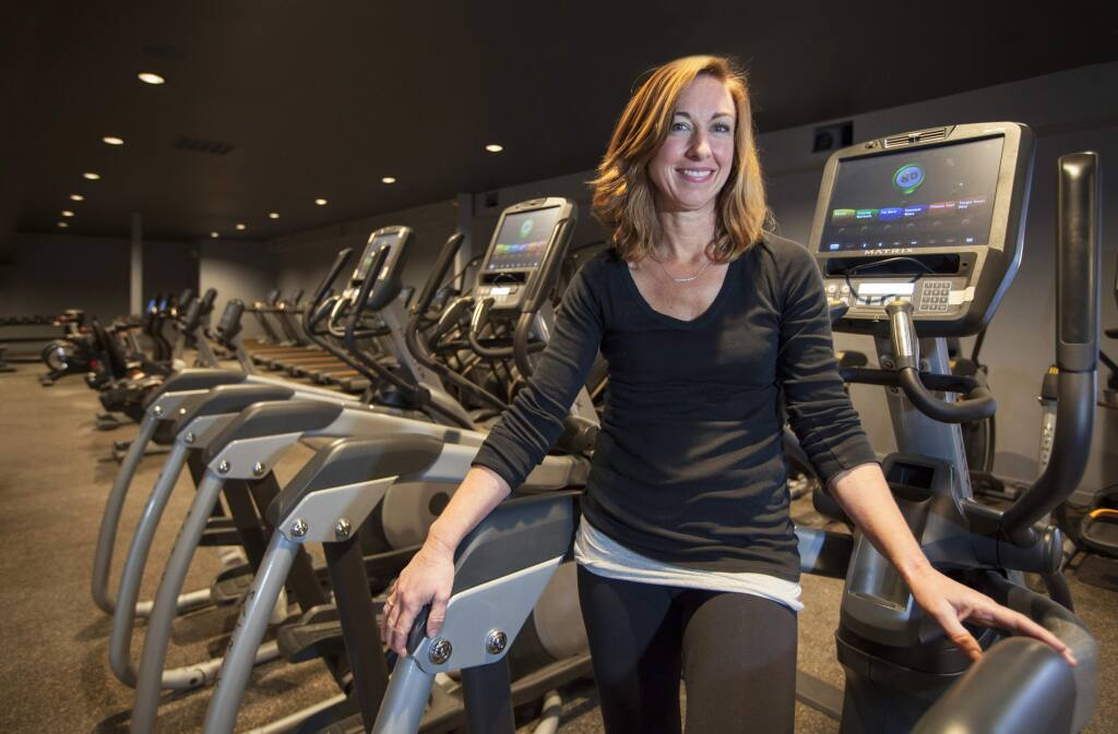 New digs for Sonoma Fit and co-owner, Jennifer Kovacs. (Photo by Robbi Pengelly/Index-Tribune)