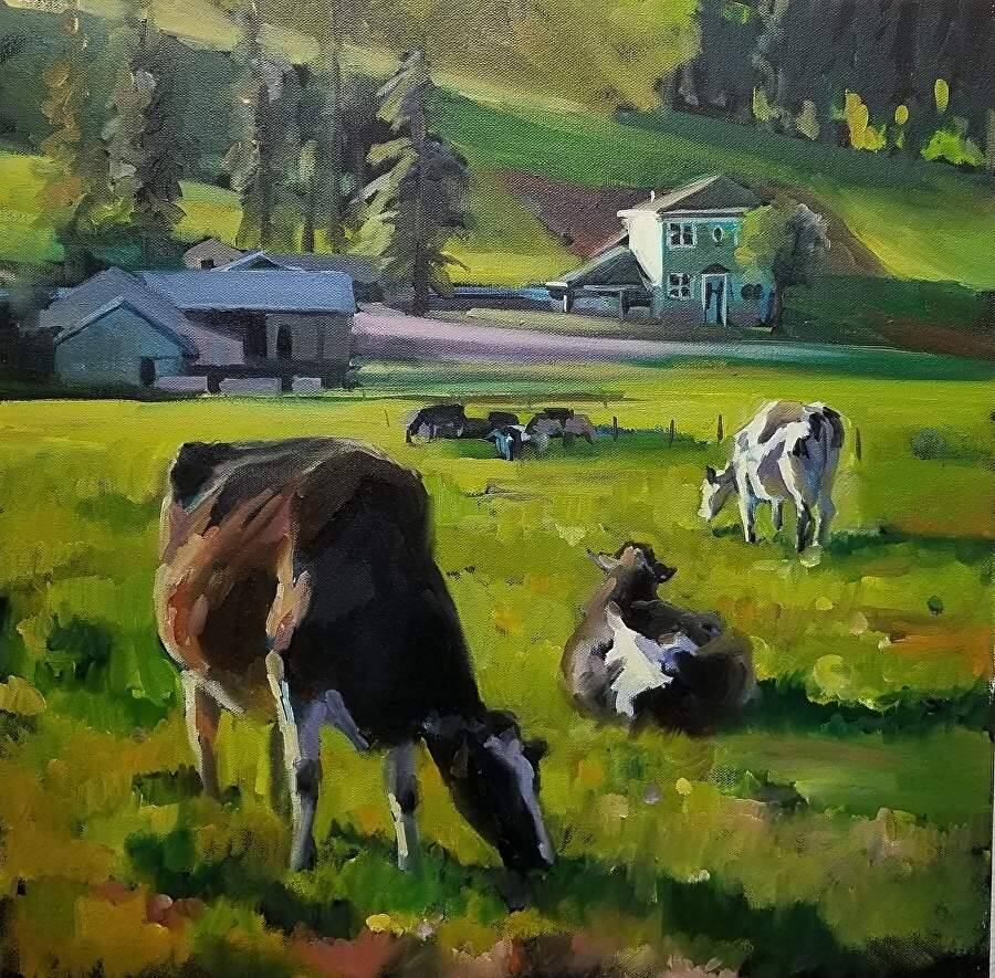 31 PAINTINGS IN 31 DAYS - Artist Wendy Brayton showcases her works as a benefit for NAMI.