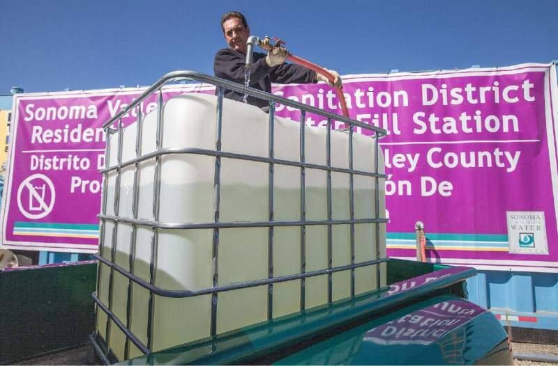 Sonoma Valley Sanitation Re Opens Recycled Water Fill Station