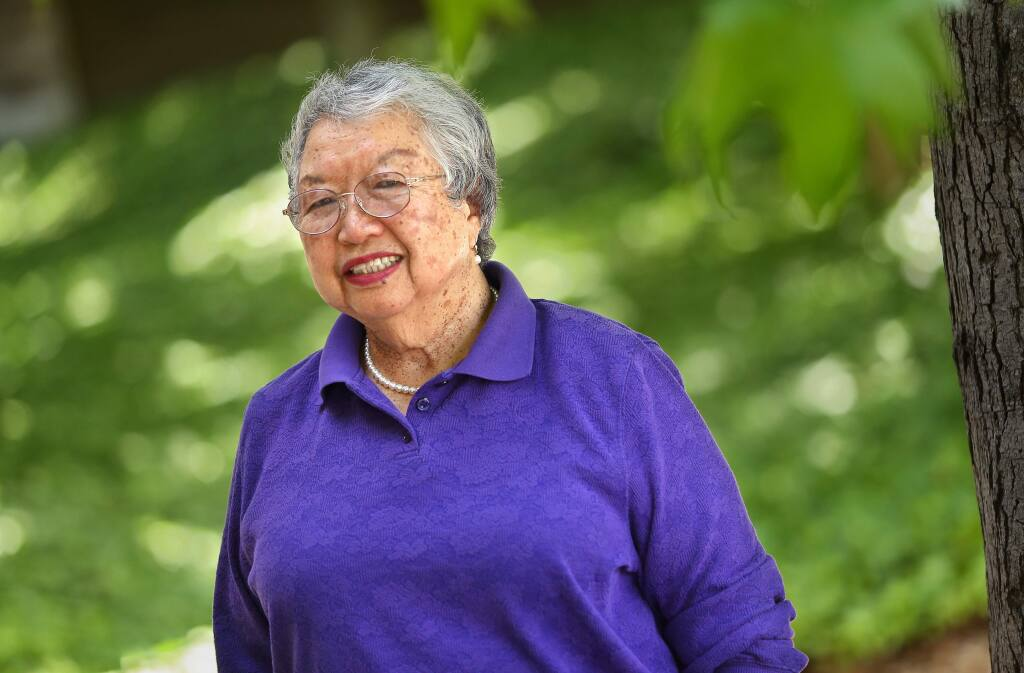 Marie Mariko Sugiyama, a fierce advocate for girls sports and a high school sports commissioner of the North Bay League for more than four decades, has died. Sugiyama led the charge for equality in girls sports locally. She also served as Montgomery's athletic director from 1974-97, while coaching girls basketball, volleyball, softball, gymnastics and badminton. (Christopher Chung / The Press Democrat, 2015)