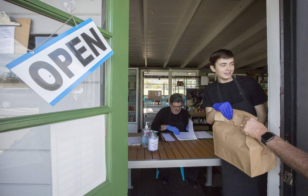 Delicious Dish is still offering takeout lunches and dinners and is planning to open a coffee cart this summer. (Photo by Robbi Pengelly/Index-Tribune)