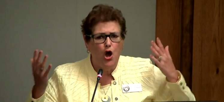 Mayor Madolyn Agrimonti conveyed her frustration at the Sept. 24 meeting over the council having to continue its moratorium on new wine tasting rooms.