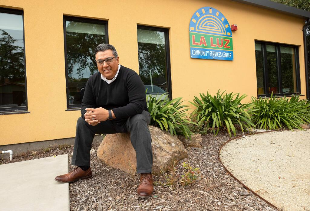 ED Juan Hernandez has announced some changes within La Luz in Sonoma. (photo by John Burgess/The Press Democrat)