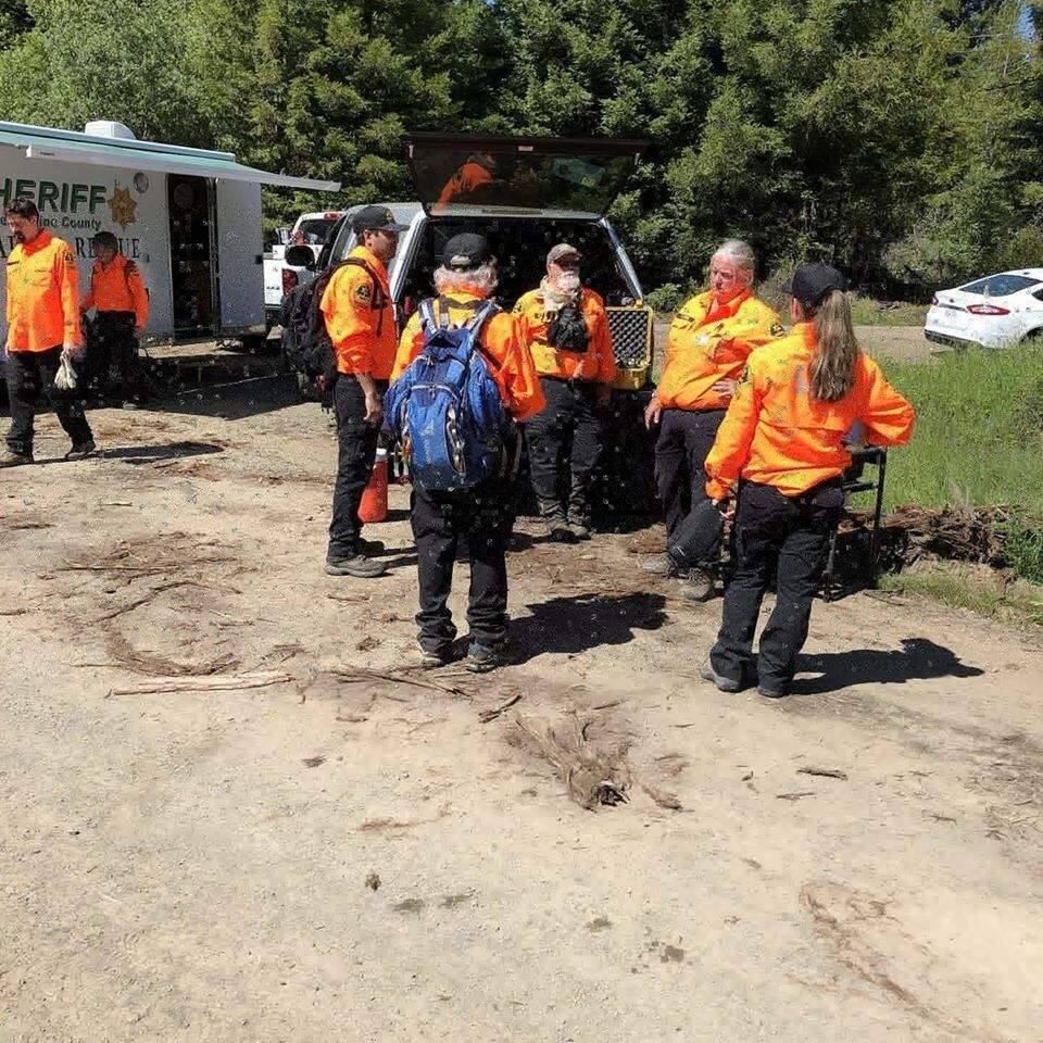 Local deputies searched the surrounding area with available resources for several days, with no sightings. Over the long weekend, the agency received assistance from several other search and rescue teams from throughout the region. (Mendocino County Sheriff)